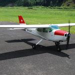 Adrians Cessna mit einem ZDZ 80ccm
