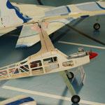 sogar ein Autogyro gab's an der Ausstellung ...