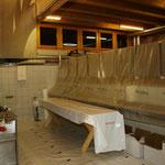 Auch die Küche ist im Aufbau...