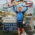 Pfitscher Joch - Alpencross 1999
