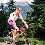 """Mit dem """"Tausend-Meter-Toni"""" vor der Zugspitze - 1992"""