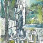 """""""Park Glienicke"""", Aus dem Skizzenbuch """"Potsdam"""", 1993-1996"""