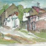 """""""Biesenthal"""", 1996, Mischtechnik, A4"""