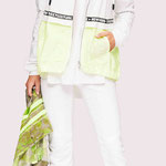 Jacket 946-16; Blouse 1039-102; Trousers 941-27; Scarf 9004-6