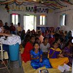Gottesdienst in Koya Rajahmundry