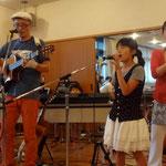 2012/7/1フランシーを囲む集い 小春演奏3