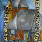 Friesenkapelle Wenningstedt     Acryl 70x100cm     2008     verkauft