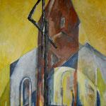 St.Severin, Keitum    Acryl 70x100cm     2008     verkauft