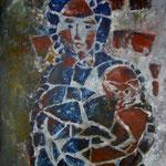 St.Raphael, List     Acryl 70x100cm    2008