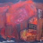 RotesHaus_Acryl96x68_2005                         verkauft