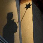 mit unserem Schatten