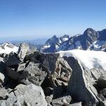 Auf dem Gipfel vom Grünhorn