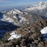 Kletterpartie auf Weissmies (SSE-Grat)