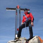 Auf dem Gipfel von Bietschhorn