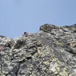 Mehrseillängetour im Wiwanni (Steinadlerroute)