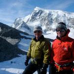 Chrigi und Willy im Monte-Rosa Gebiet
