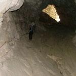 Bietschischlucht - in der Höhle