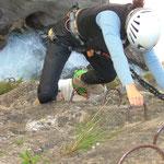 Bietschischlucht - die letzte Klettersteigpartie