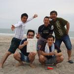 201205 ビーチ 男子
