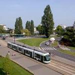 Le tram, centre ville