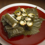 Stuffed Grape Leaves (Dolma) (Image from www.cookdiary.net)