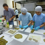 Stuffing of Grape Leaves