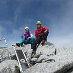 Summit Mont Blanc du Tacul.