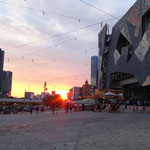 Federation Square, Melbourne City, Australia