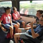 Unterwegs nach Wien