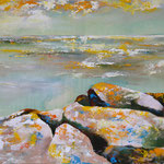 2018_Meer bei Ancona_60 x 90cm_Acryl_Baumwolle