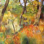 2020_Herbst am Monte Lanaro_80x120cm_Acryl_Baumwolle