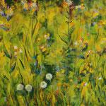 2015_Blumenwiese_70 x 150cm_Acryl_Baumwolle