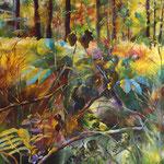 2019_Gestrüpp im Herbst_100 x120cm_Acryl_Baumwolle
