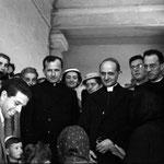 Giovanni Battista Montini prima di divenire Papa Paolo VI (1955ca)