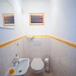 Das WC - getrennt vom Bad