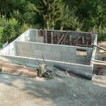 Murs en banché enterrés