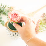 Hauptblüte mittig platzieren