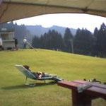 グラススキー場での~んびりと過ごす風景