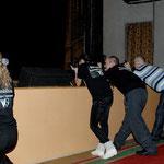 занятие по репортажу на Чемпионате края по черлидингу