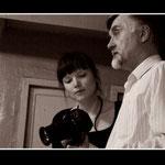 Токмаков и Яна Якушева - известный пермский фотограф