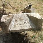 pierre de la baie du choeur