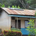 Solaranlage zur Überbrückung von Stromausfällen.