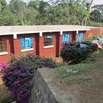 Das neu errichtete Mädchen-Wohngebäude der Kishumundu Secondary School.