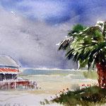 Am Strand von San Benedetto del Tronto