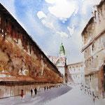 Augustusstraße mit Fürstenzug