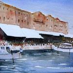 Im Hafen von Rethymnon