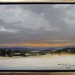 Winter im Erzgebirge / Öl