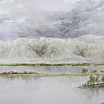 Blick ins Velebitgebirge