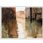 Durchblick Venedig 2 /Aquarell