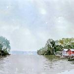 Lopburi Fluss